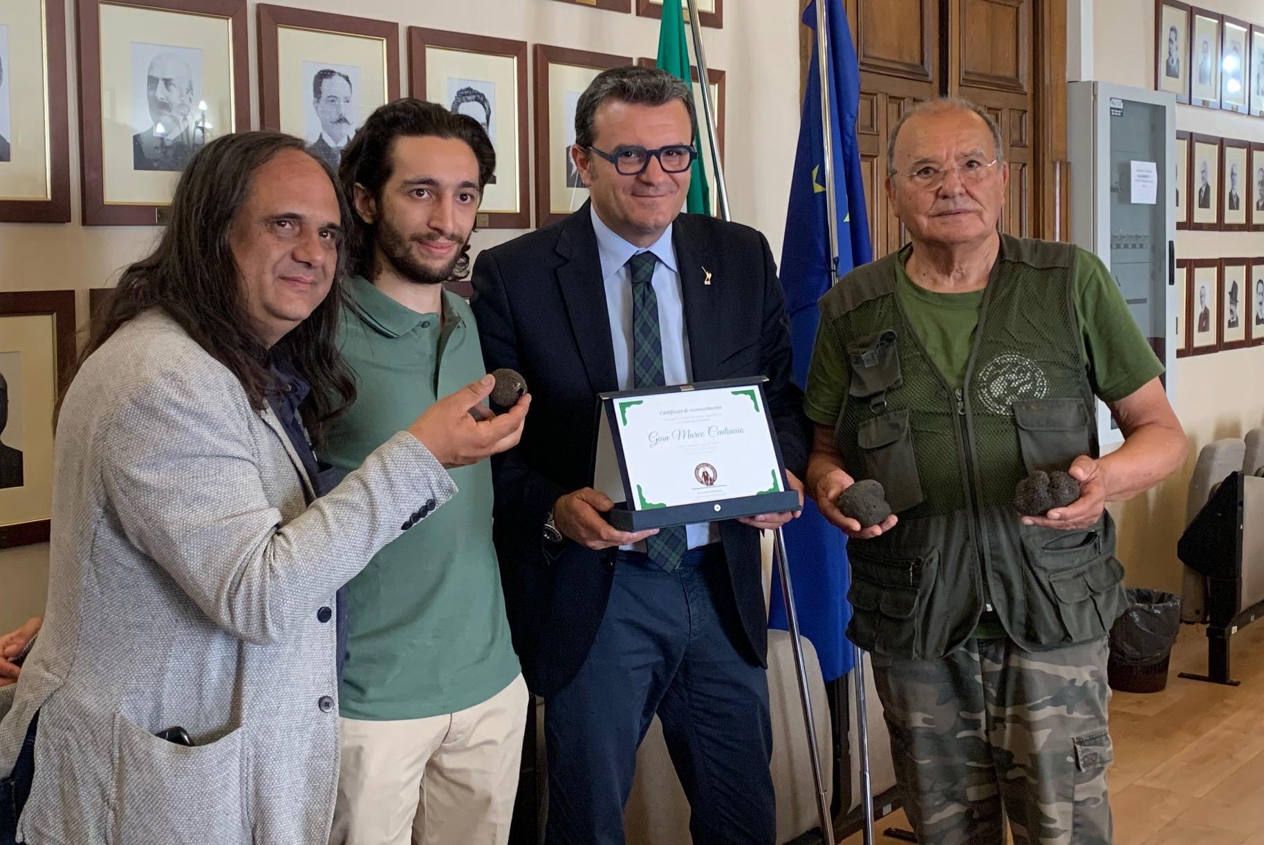 Truffle Market tartufo italiano certificato su blockchain